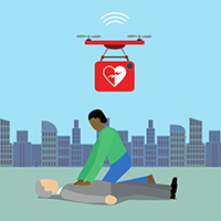 AED in public sites: ANYONE might use. Just follow the instruction voice and SAVE VICTIMS